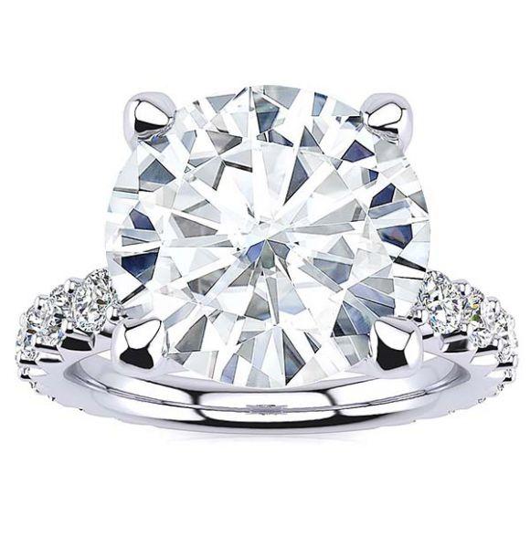 Sabrina Moissanite Ring