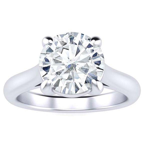 Kristine Moissanite Ring