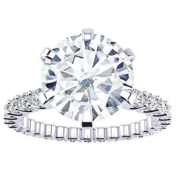 Meredith Moissanite Ring