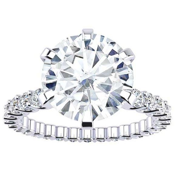 Meredith Lab Grown Diamond Ring