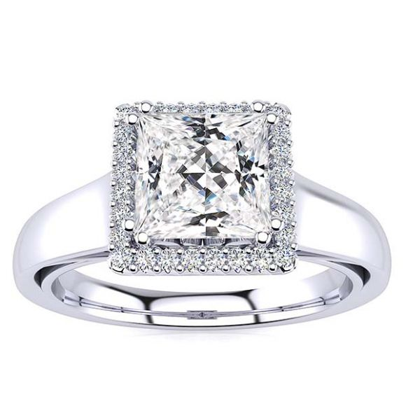 Camilla Moissanite Ring