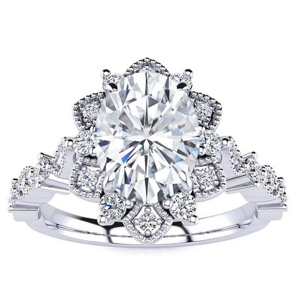 Brenda Lab Grown Diamond Ring