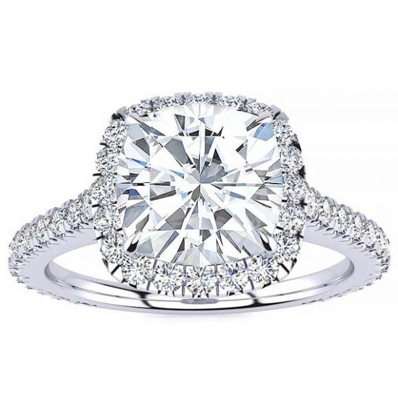 Ali Moissanite Ring