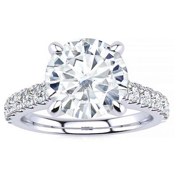 Sophie Moissanite Ring