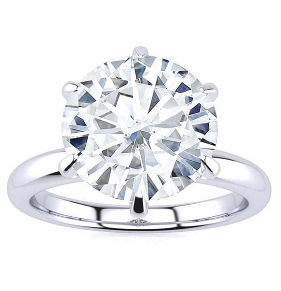 Brooke Moissanite Ring