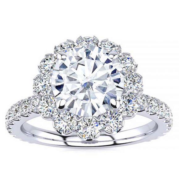 Emmy Moissanite Ring