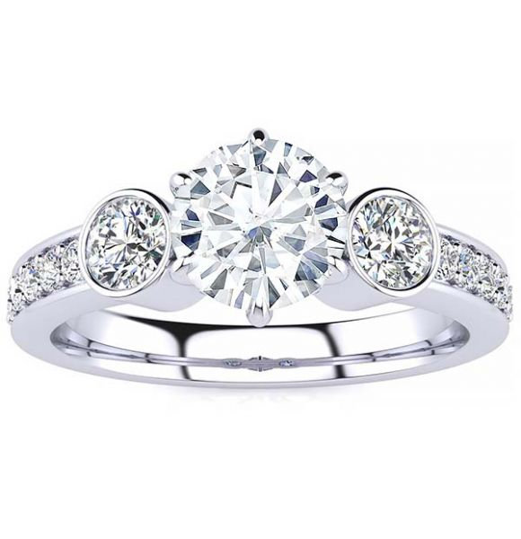Linda Lab Grown Diamond Ring