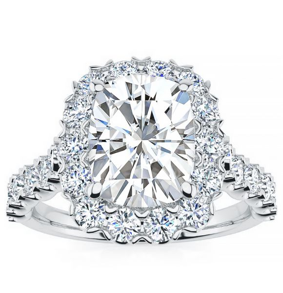Cynthia Moissanite Ring