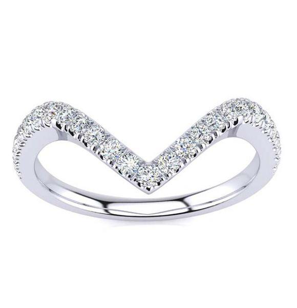Curve Diamond Ring