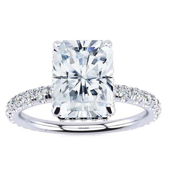 Crystal Lab Grown Diamond Ring