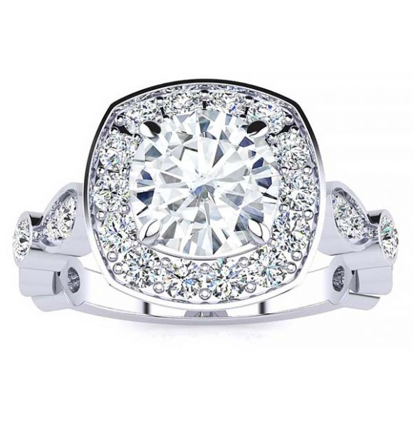 Allison Moissanite Ring