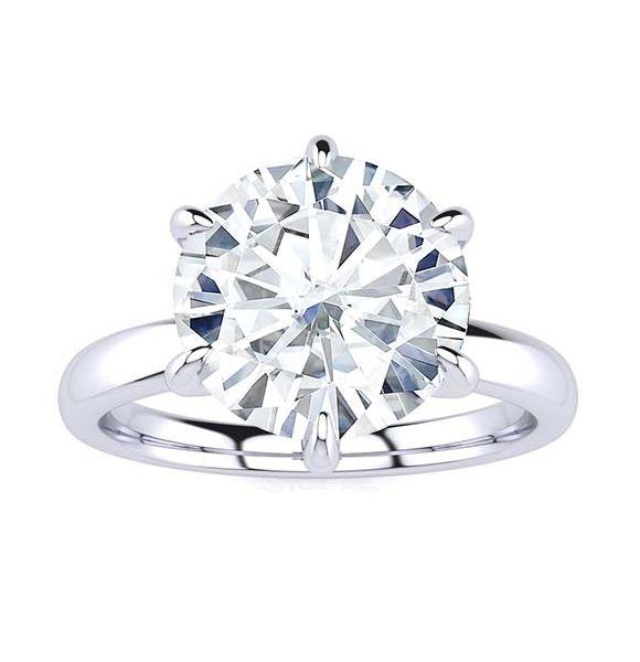 Shannon Moissanite Ring