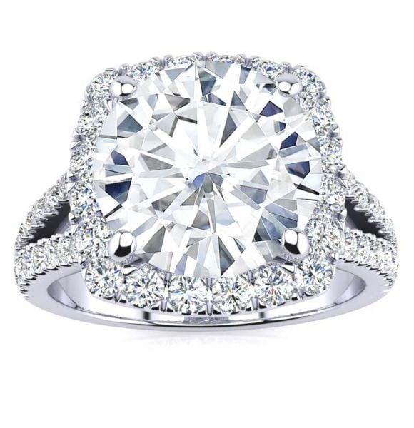 Margaret Moissanite Ring
