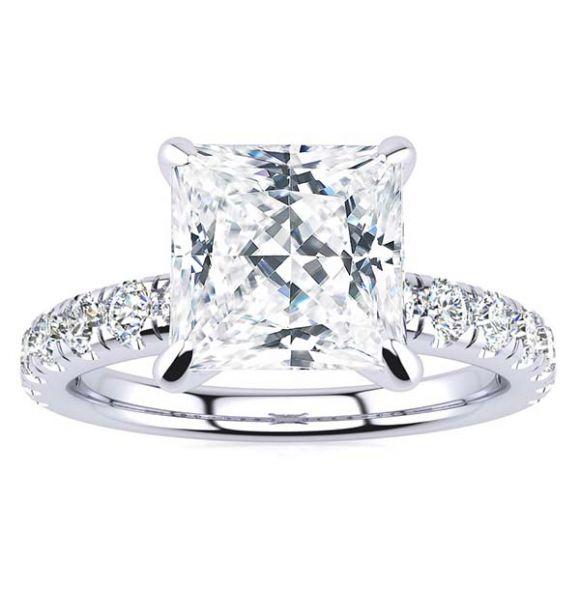Melina Moissanite Ring