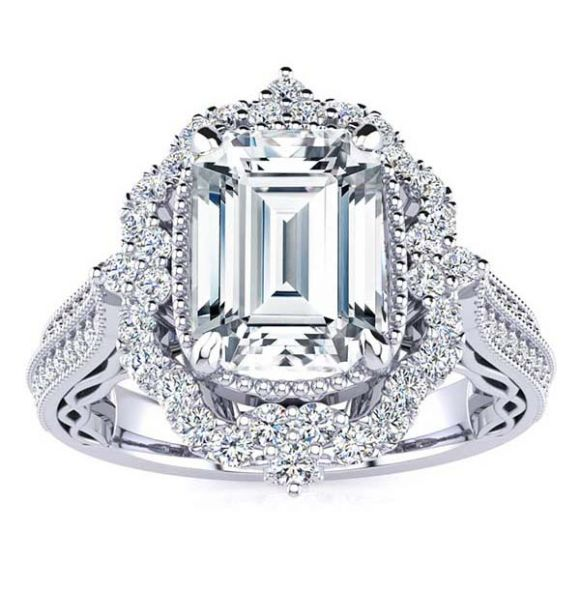Josie Moissanite Ring