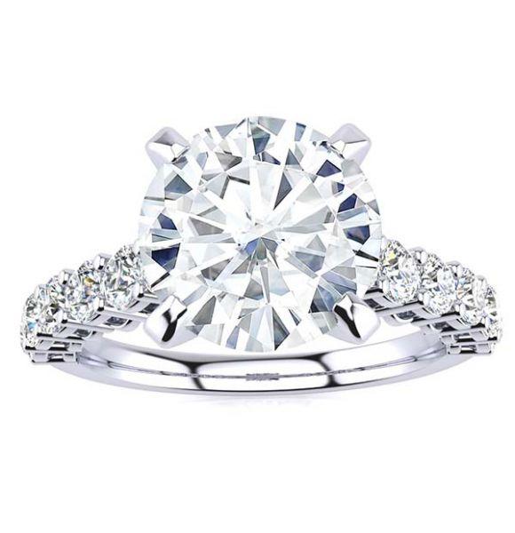 Nancy Moissanite Ring