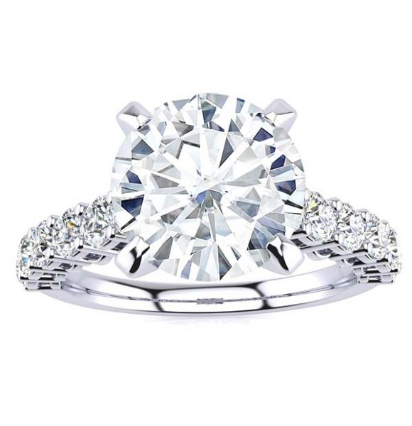 Nancy Lab Grown Diamond Ring