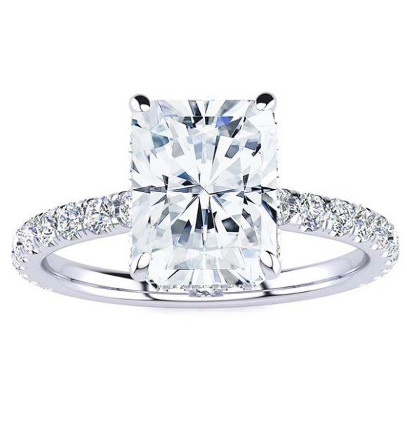Jenn Moissanite Ring