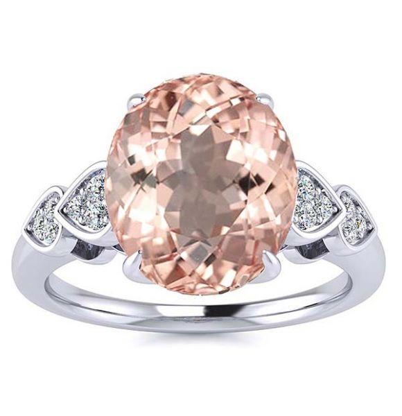 Simona Morganite Ring