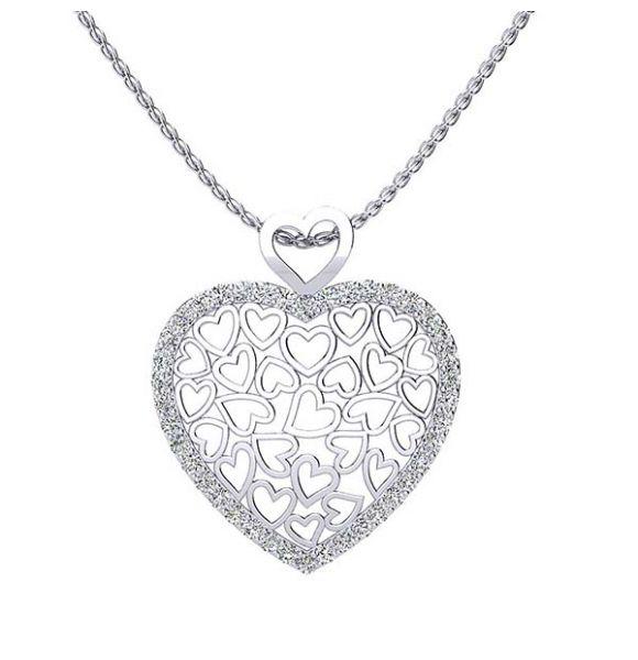 Suzie Diamond Heart Pendant