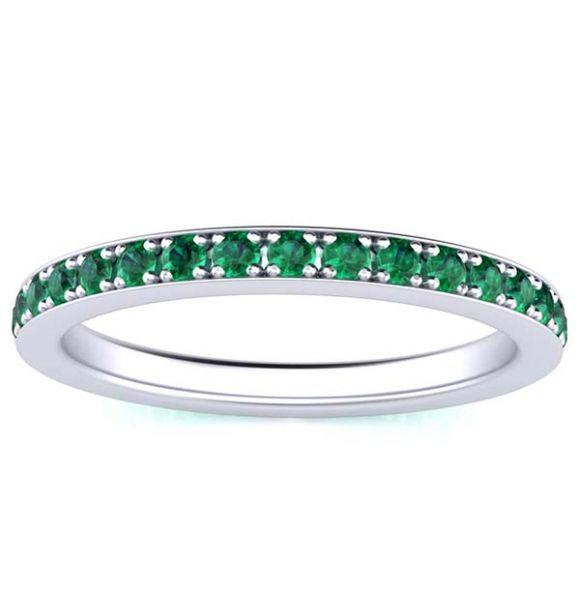 Sydney Emerald Eternity Ring