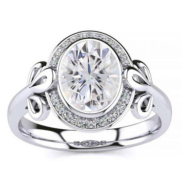 Abi Moissanite Ring