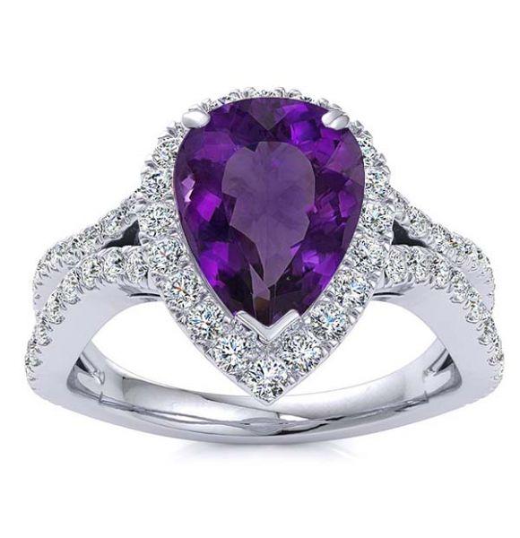 Jasmine Amethyst Ring