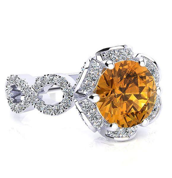 Katie Citrine Ring