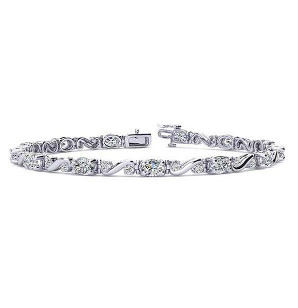 Twist Diamond Bracelet