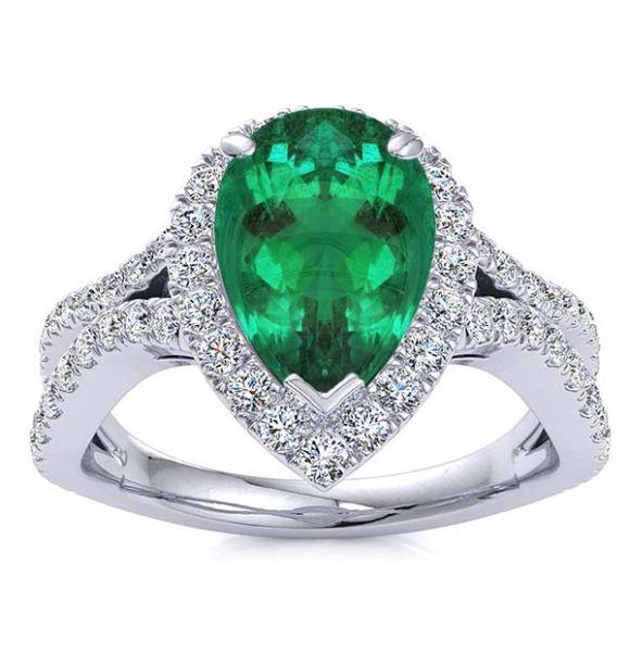 Jasmine Emerald Ring
