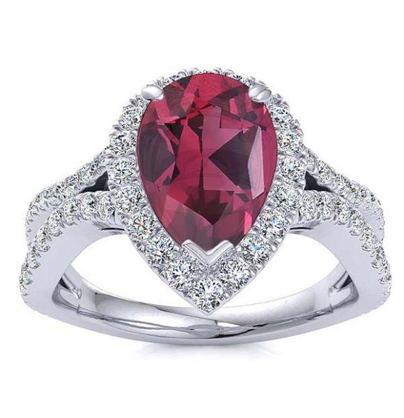 Jasmine Garnet Ring