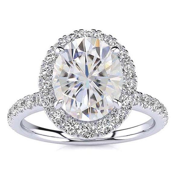 Cindy Moissanite Ring