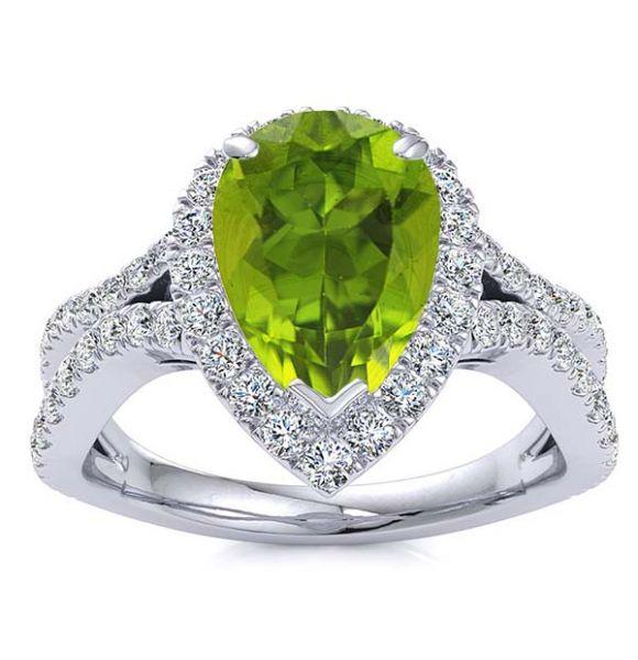 Jasmine Peridot Ring