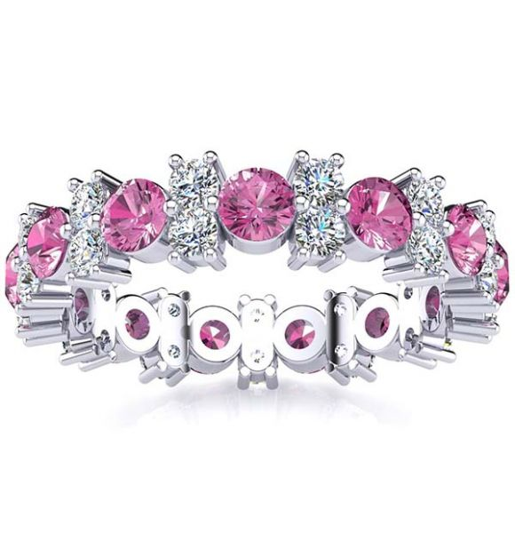 Garland Tourmaline And Diamond Ring