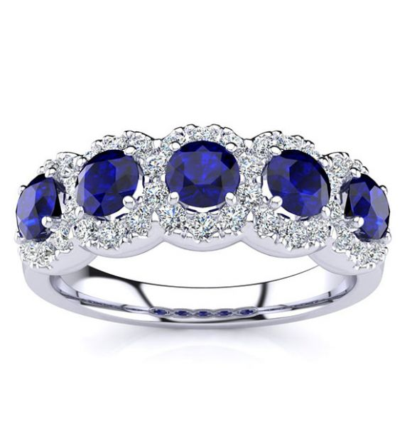 Amy Sapphire Ring