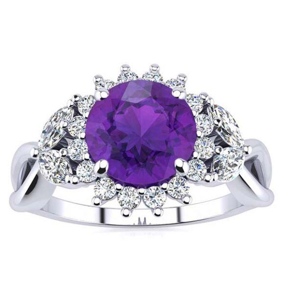 Cathy Amethyst Ring