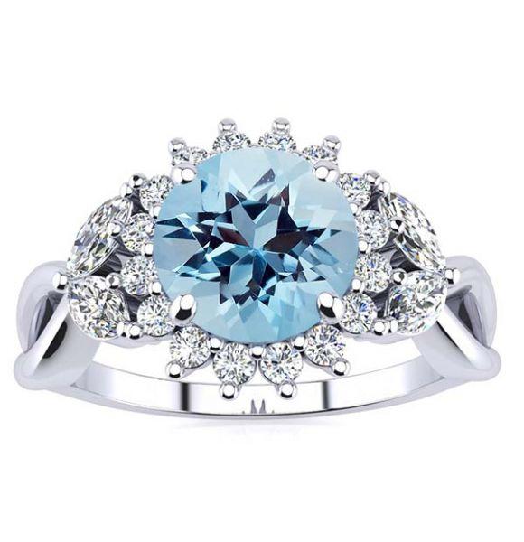 Cathy Aquamarine Ring