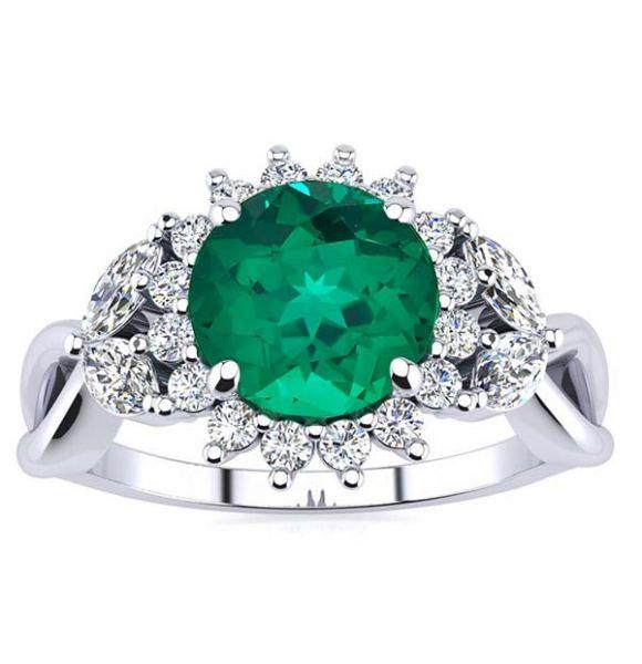 Cathy Emerald Ring