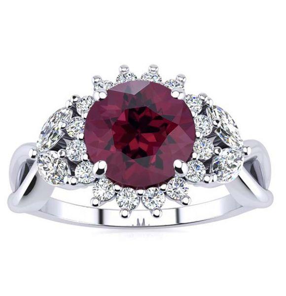 Cathy Garnet Ring