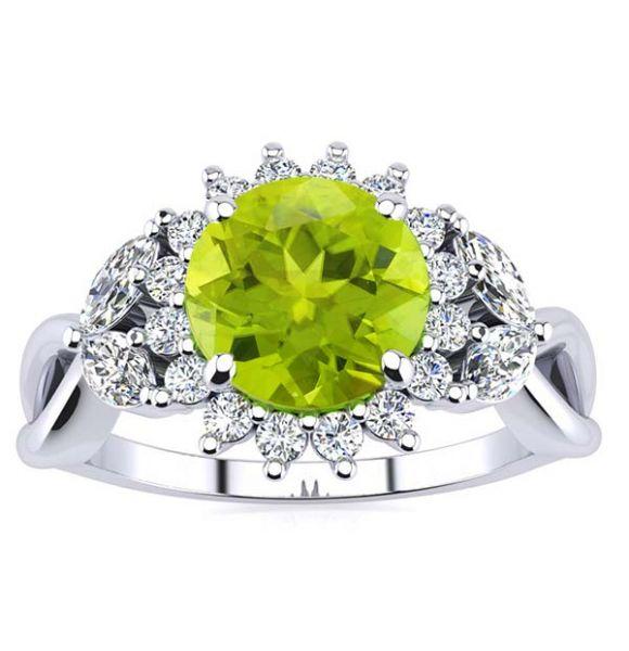 Cathy Peridot Ring