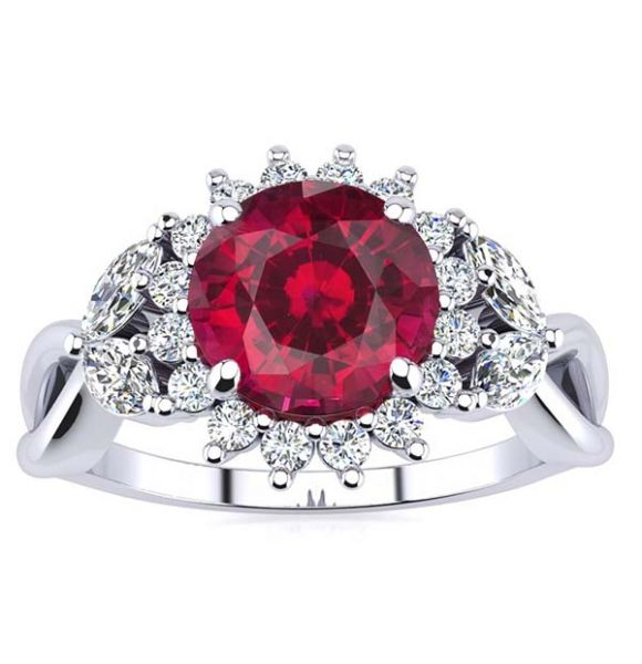 Cathy Ruby Ring