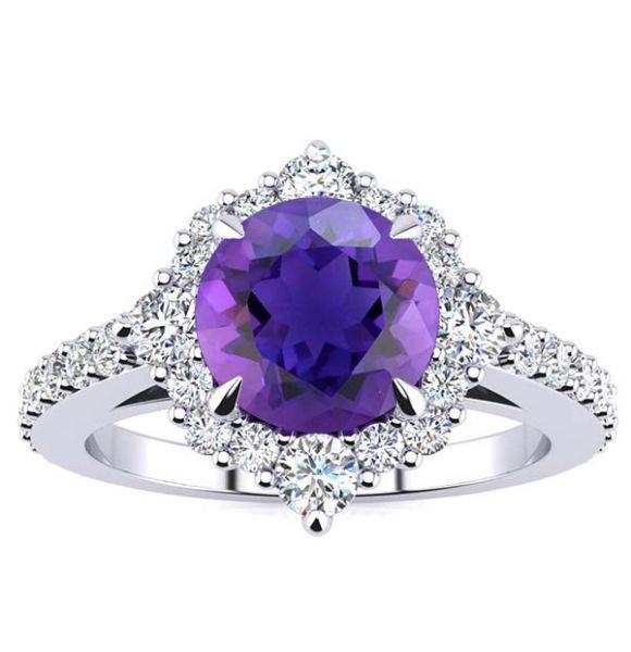 Shannel Amethyst Ring