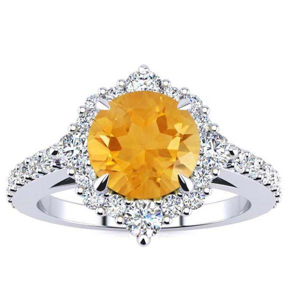 Shannel Citrin Ring