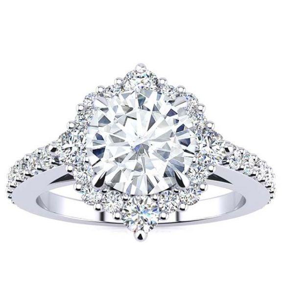 Shannel Moissanite Ring