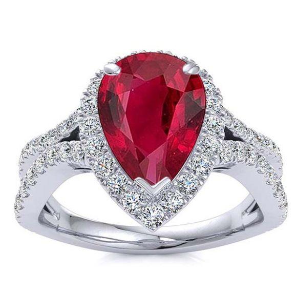 Jasmine Ruby Ring