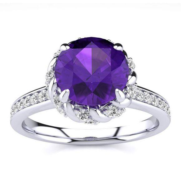 Sultana Amethyst Ring
