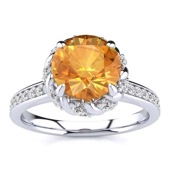 Sultana Citrine Ring