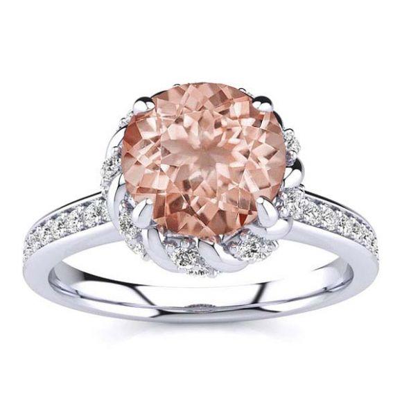 Sultana Morganite Ring