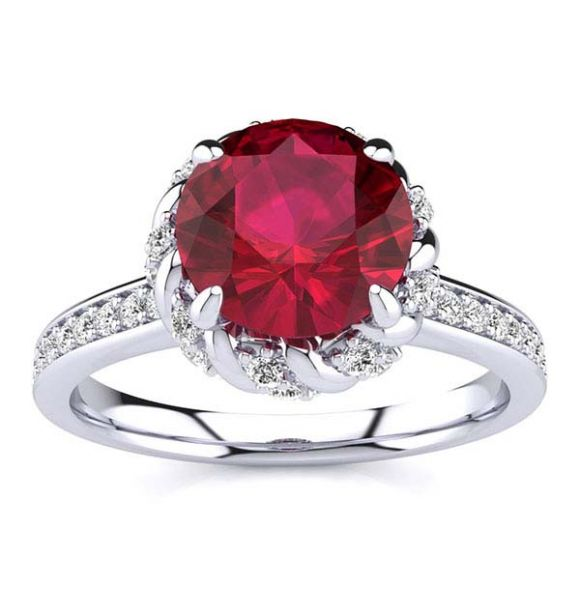 Sultana Ruby Ring