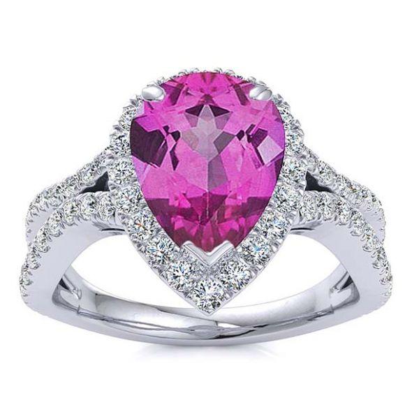 Jasmine Pink Tourmaline Ring